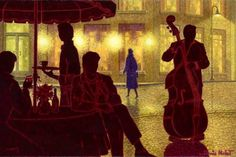 Denis Nolet, 1964 ~ Night Tango in Paris | Tutt'Art@ | Pittura * Scultura * Poesia * Musica |