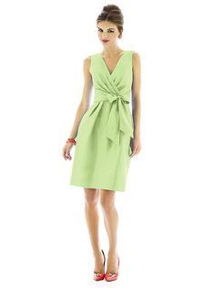 Alfred Sung Bridesmaid Dress D595 http://www.dessy.com/dresses/bridesmaid/D595/