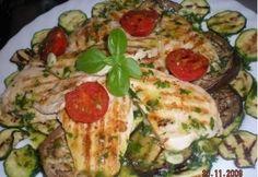 Mediterrán dresszing grillhez