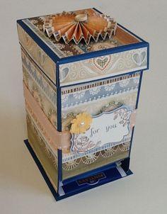 tea bag dispenser - May's Home Decor Project