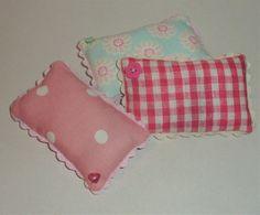 Lavendel Kissen Pin Cushion paar Nadelkissen von APPLEBLOOMCRAFTS
