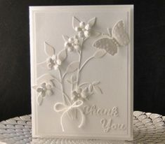Monochrome Case by jasonw1 - Cards and Paper Crafts at Splitcoaststampers Butterfly Cards, Flower Cards, Die Cut Cards, Sympathy Cards, Card Tags, Greeting Cards Handmade, Homemade Cards, Scrapbook Cards, Scrapbooking Layouts