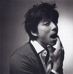 Gong Yoo--you silly goose :)