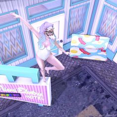 Blogged here : http://catandama.blogspot.ca/2014/09/dancing-on-my-own.html #Secondlife