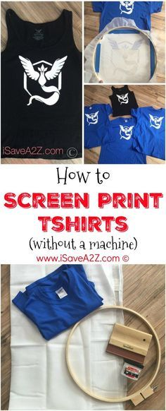 55 Trendy ideas for silk screen printing inspiration Screen Printing Shirts, Printed Shirts, Diy T Shirt Printing, Silk Screen T Shirts, How To Silk Screen, Festival Hippie, Shirt Embroidery, Embroidery Hoops, Machine Embroidery