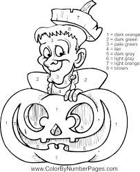 Image Result For Free Halloween Color By Number Printable Halloween Coloring Pages Halloween Coloring Sheets Coloring Pages
