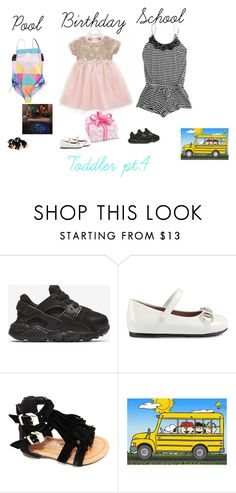 """Toddler pt.5"" by bearteddyblitz on Polyvore featuring NIKE, Gucci and Marmont Hill"