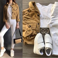 Cute Casual Outfits, Basic Outfits, Simple Outfits, Outfits For Teens, Winter Fashion Outfits, Look Fashion, Korean Fashion, Look Jean, Moda Outfits