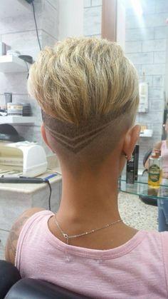 262 Best Hair Tattoo Images In 2019 Shaved Hair Shaving Hair Tattoos