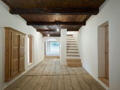 Florins residence, farmhouse -renovation by Philip Baumhauer Architects, Scuol (GR, CH)