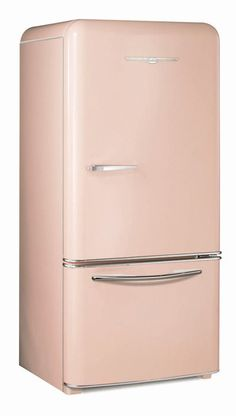 Elmira Stove Works retro fridge - 1950 FLAMINGO PINK