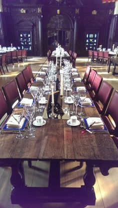 Wedding Set Up @Stationers Hall London