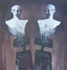 Acrílico sobre lienzo 100x100cm Ismael Panadero