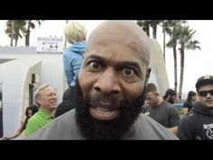CT Fletcher at Muscle Beach- JackedPack.com