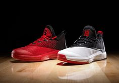 "adidas today unveils another version of the James Harden player editions of the Crazylight Boost Designed to complement the Houston Rockets' uniforms, the ""Home"" edition [. Basketball Shorts Girls, Basketball Games For Kids, Nike Basketball Shoes, James Harden Shoes, Old Nikes, Nike Under Armour, Shoes World, Houston Rockets, Stephen Curry"