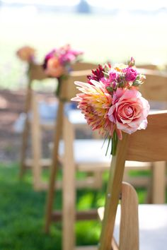 Mini-Bouquet-Wedding-Ceremony-Chair-Decor