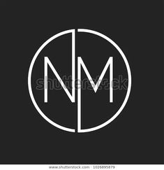 Find Nm Minimalist Logo Design stock images in HD and millions of other royalty-free stock photos, illustrations and vectors in the Shutterstock collection. Clothing Logo Design, Clothing Brand Logos, Name Logo, Logo Design Tutorial, Design Tutorials, Modern Logo Design, Branding Design, Typographic Logo, Logo Design Inspiration
