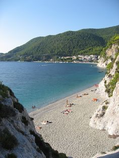 Skopelos, Greece. Sight were Mama Mia was filmed.