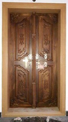 Kerala Wooden Front Double Door Designs Double Doors May Seem More
