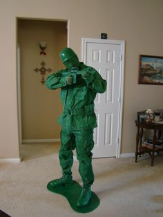 If you were once a kid like me, then you probably played with little plastic green army men.  They were one of my favorite cheap toys from childhood. ...