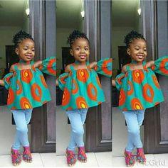 Resultado de imagem para roupas africana infantil