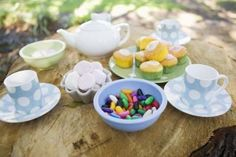 """Games for a Dress-Up Birthday Tea Party for 10-Year-Old Girls: Tea pot surprise game. Place tea bags in a pot, each with a """"challenge"""" or activity for the child to do. For example, sing teapot song, add a feather boa to your costume, drink 1 cup of tea, etc..."""