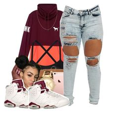 """Back To School"" by polyvoreitems5 ❤ liked on Polyvore featuring Victoria's Secret and Michael Kors"