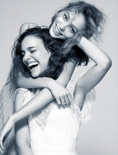 Lily-Rose Depp & Natalie Portman on the cover of Madame Figaro magazine.