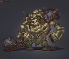 Skeleton Grunt Concept This may be one of my all time favorite skeleton concepts ever! T'was done by Dmitriy B.!