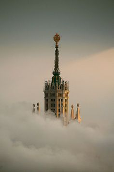 """kotelnicheskaya"" embankment building (one of the 7 sisters), Moscow, Russia by richy vanesio"