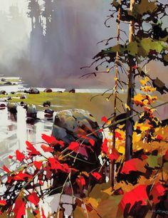 Michael O'Toole, 1963 ~ Impressionist painter   Tutt'Art@   Pittura * Scultura * Poesia * Musica  