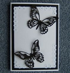 butterfly greetings card (ref 736) £1.50