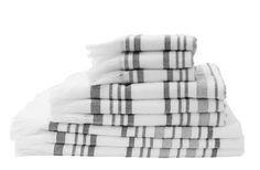 andtücher s/w Streifen Schöne Handtücher wie aus tausend und einer Nacht...schwarz/weiß gestreift mit Fransen von TINE K home. In drei Größen erhältlich.