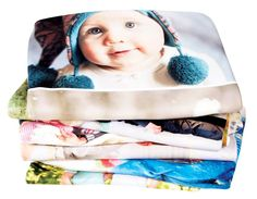 Fleece Photo Blanket Keep you and your loved ones warm with one of our customizable photo blankets. Each blanket is printed on high quality, durable fleece and is machine washable. The shorter plush on the fleece blanket ensures your photos are as sharp as possible and is perfect for use as a wall hanging or quilt. Photo blankets are the perfect, unique gift to show the loved ones in your life how much you care.