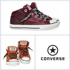 Deze stoere sneakers voor boys vind je nu online! De schoenen zijn voorzien van handige elastieken dus veterstrikken is niet nodig! Je vindt ze hier: http://www.kinderschoenen.nl/converse/