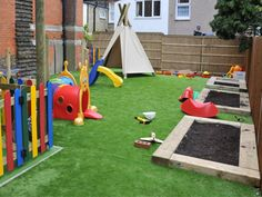 Love this play area created by Playforce!