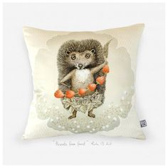Presents From Forest throw pillow cover - For every Dream of Yours throw pillow cover -Lithuanian artist Rūta Dumalakaitė just released a set of original throw pillow covers digitally printed with her artwork. Every piece holds an inside story. Hidden dreams, feelings left behind, the power of imagination, the magic of nature, and things that we forget or fail to notice. $35 !!