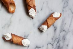The classic deep-fried and ricotta-filled cannoli, made at home.