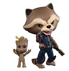 Alen Gardiens de la galaxie Tree Man /& Rocket Raccoon PVC Action Figure 14 cm