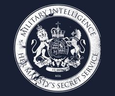 Mi6 007 Logo | James Bond MI6 T-Shirt – Her Majesty's Secret Service Logo Shirt