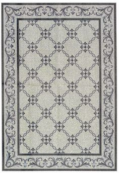 """I'm starting a new project that is a new """"Arraiolos"""" rug. This project started in a very funny way, a. Filet Crochet, Crochet Stitches, Cross Stitch Designs, Cross Stitch Patterns, Embroidery Patterns, Hand Embroidery, Crochet Tablecloth, Bargello, Mosaic Tiles"""