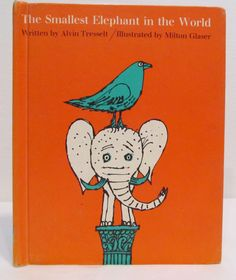 THE SMALLEST ELEPHANT In The World - 1959 by Alvin Tresselt by CellarDeals on Etsy