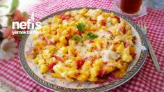 Kahvaltılık Patates Kavurması My Favorite Food, Favorite Recipes, Turkish Recipes, Ethnic Recipes, Macaroni And Cheese, Pizza, Food And Drink, Vegetables, Cooking
