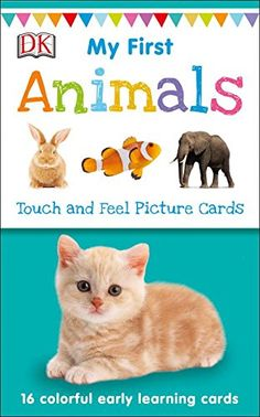 My First Touch And Feel Picture Cards: Animals ~ GIVEAWAY!