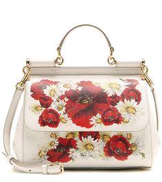 Dolce & Gabbana Miss Sicily Medium printed leather shoulder bag