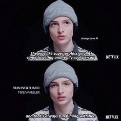 Finn about Millie