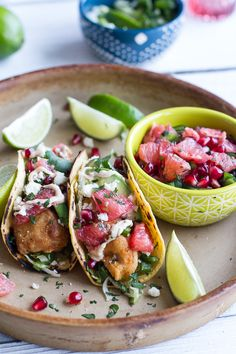 Our latest guest poster, Tieghan from @Half Baked Harvest, updated one of BHG.com's best recipes, our Baja Fish Tacos! We love her take on this recipe!