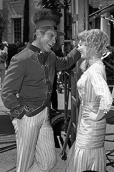 Robert Preston and Shirley Jones as Harold Hill and Marian Paroo - The Music Man