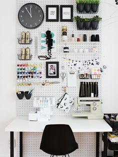 Design Crush | Pegboard ~ Homeagination