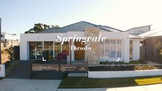 The Springvale design is a sprawling single-storey open plan design, styled in the best of Mid-Century Modern design.  Design name: Springvale Facade name: Majura Facade 4 Bed, 2 Bath, 2 Car, 1 Storey  Experience this display home for yourself - 21 Glider Crescent, Throsby ACT 2914